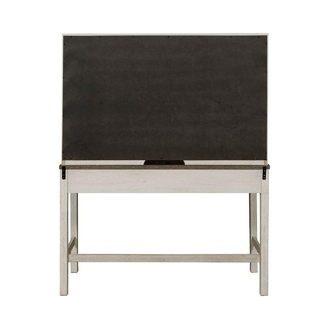 Casper Light Tone Desk And Hutch (2)