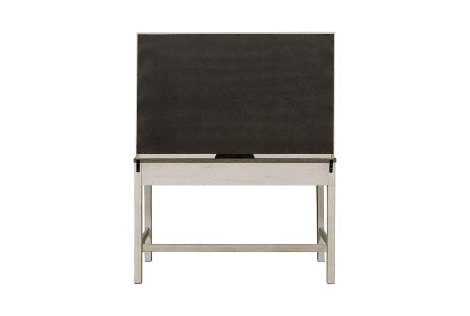 Casper Light Tone Desk And Hutch