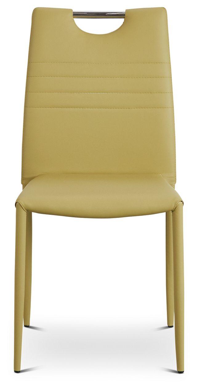 Skyline Light Green Upholstered Side Chair (3)