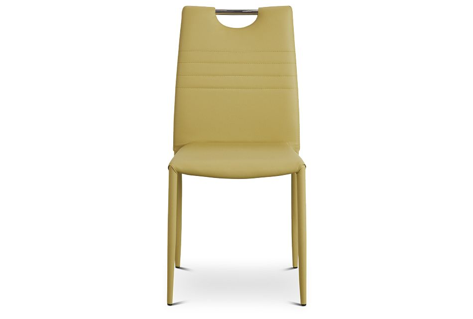 Skyline Light Green Upholstered Side Chair