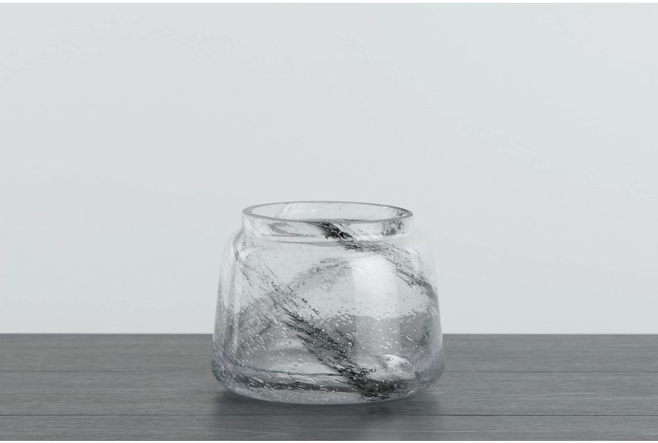 Flick Gray Vase