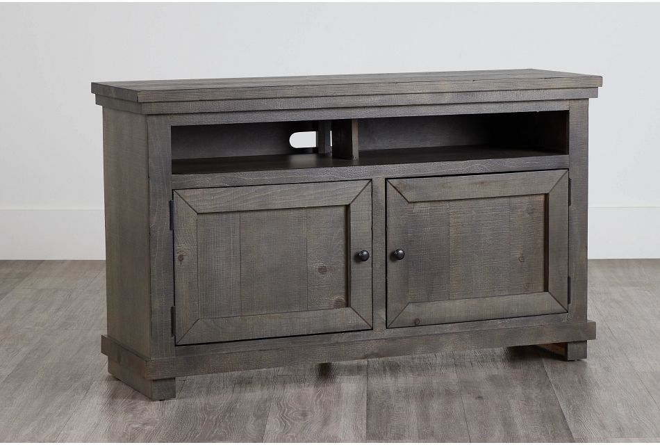 """Willow Gray 54"""" Tv Stand,"""