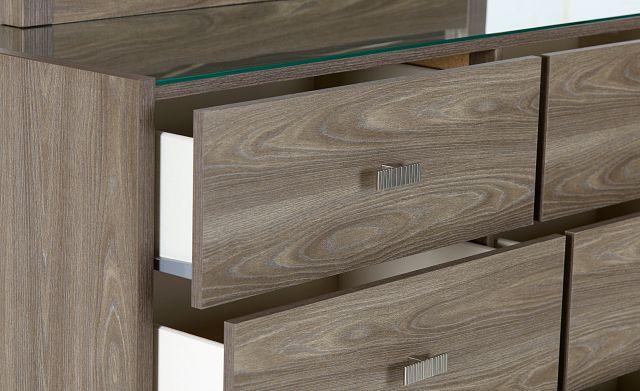 Sutton Light Tone Dresser & Mirror