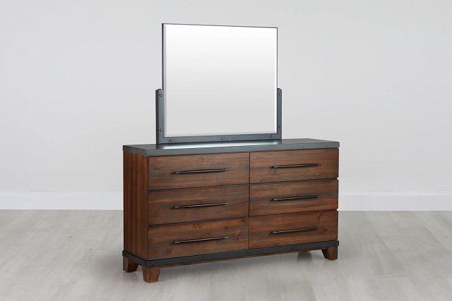 Forge Dark Tone Dresser & Mirror (0)