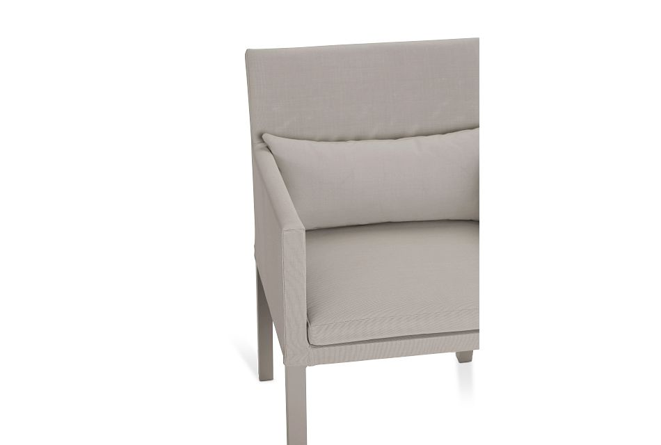Lisbon Khaki  Cushioned Chair
