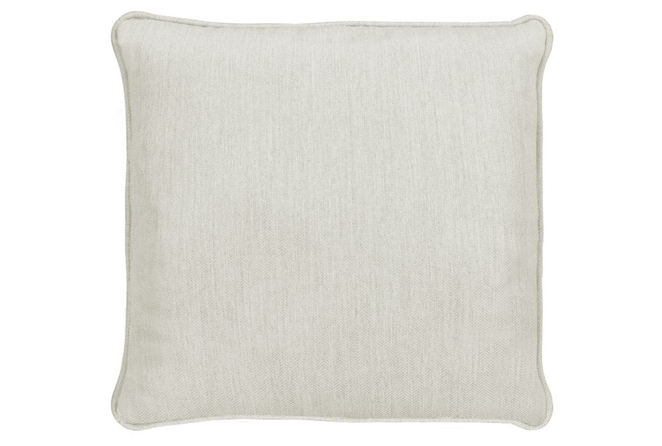 "Sensation Light Gray 18"" Indoor/outdoor Accent Pillow"
