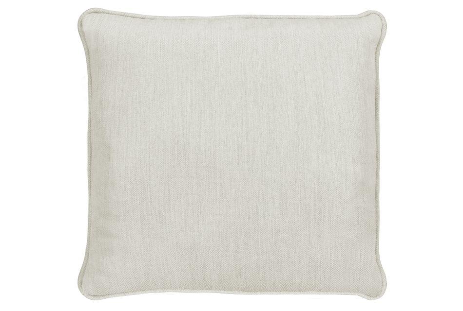 """Sensation Light Gray 18"""" Indoor/outdoor Accent Pillow"""