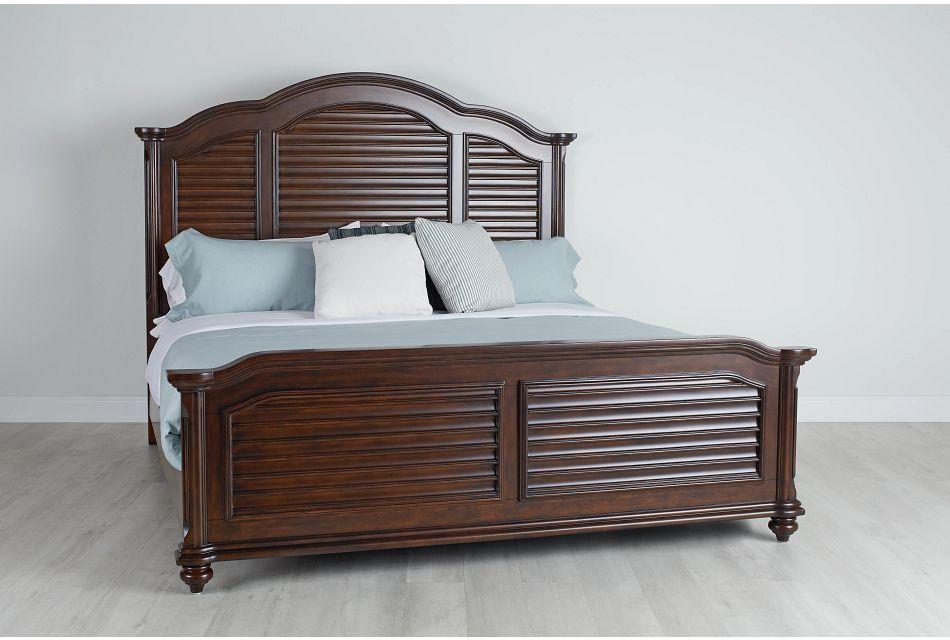 Savannah Dark Tone Mansion Bed