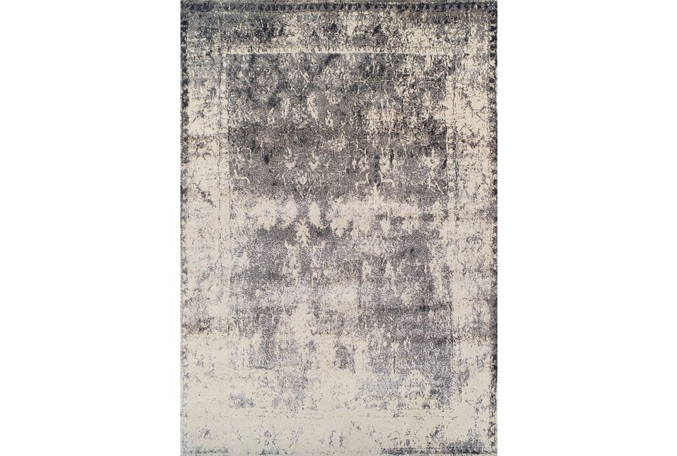 Antiquity Gray 5x8 Area Rug