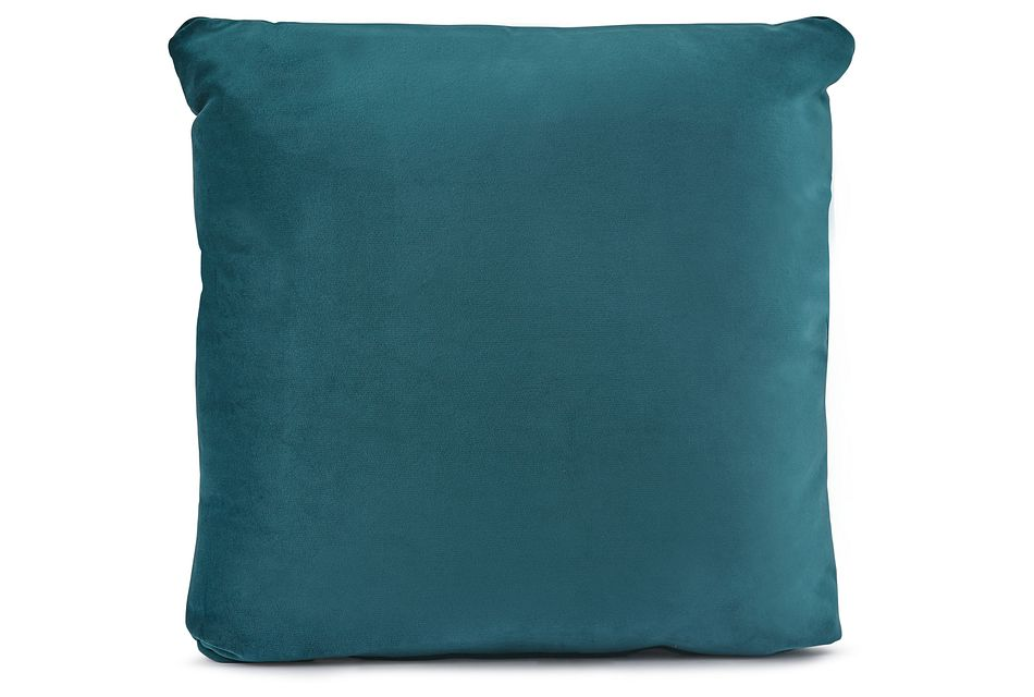 "Royale Dark Teal 18"" Square Accent Pillow"