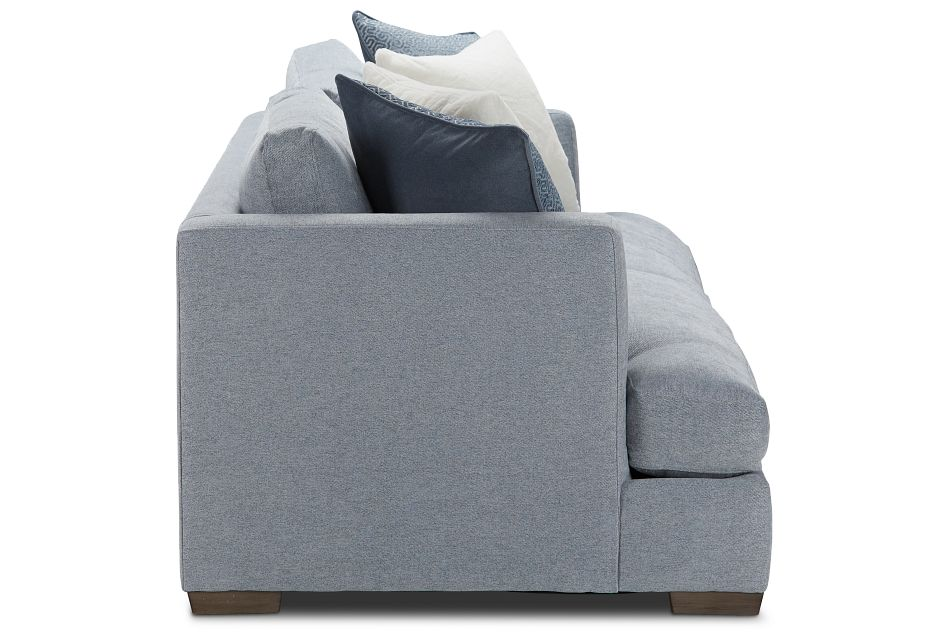 Giselle Gray Fabric Sofa