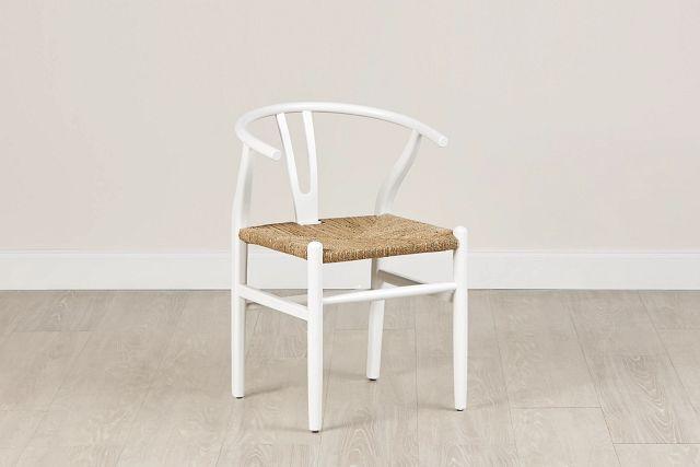 Moya White Wood Side Chair (0)