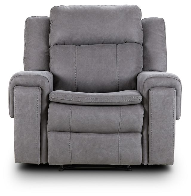 Scout Gray Micro Recliner (3)