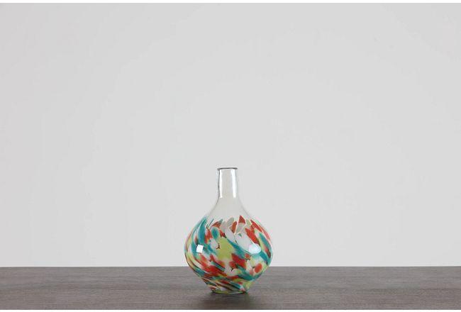 Daisy Orange Small Vase