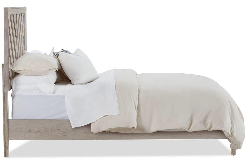 Casper Light Tone Panel Bed