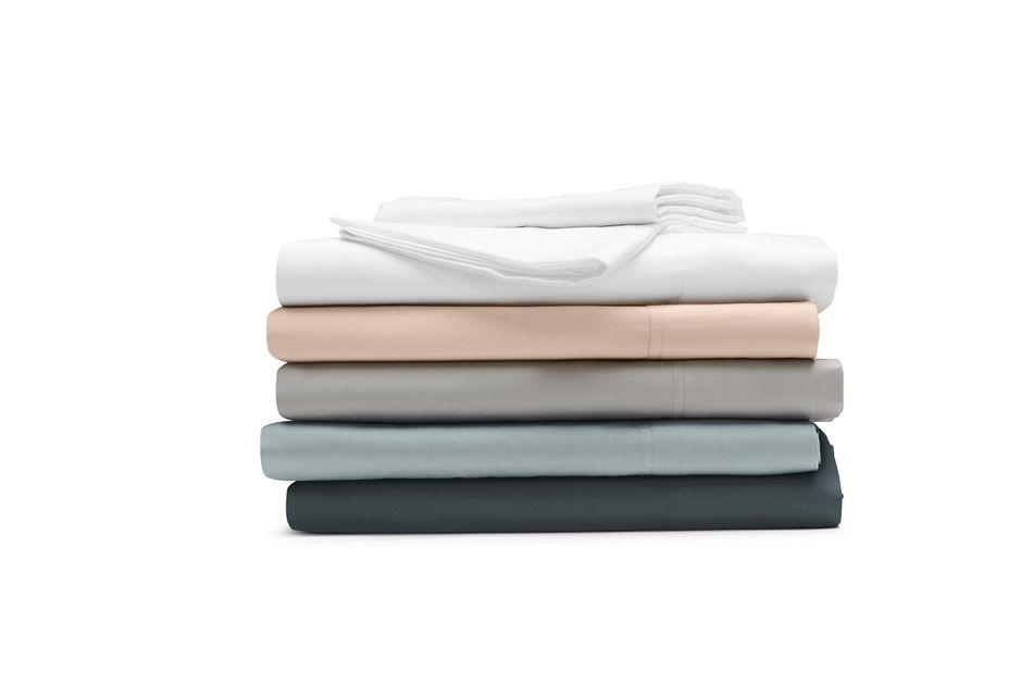 Organic Cotton Gray 300 Thread Sheet Set