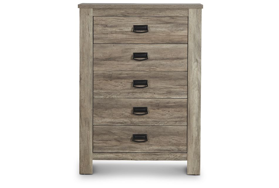 Shelton Light Tone Drawer Chest
