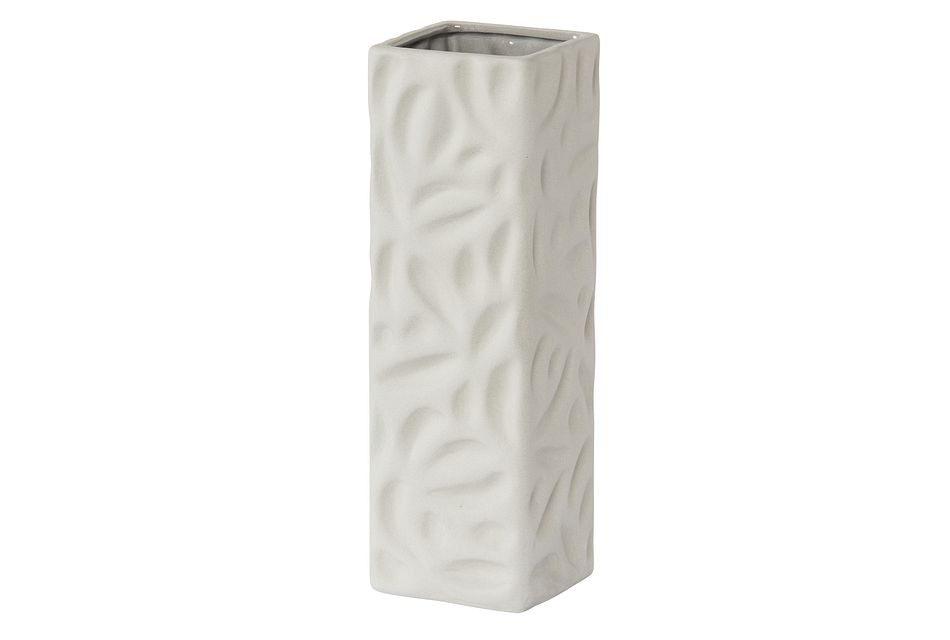 Holly Light Gray Large Vase