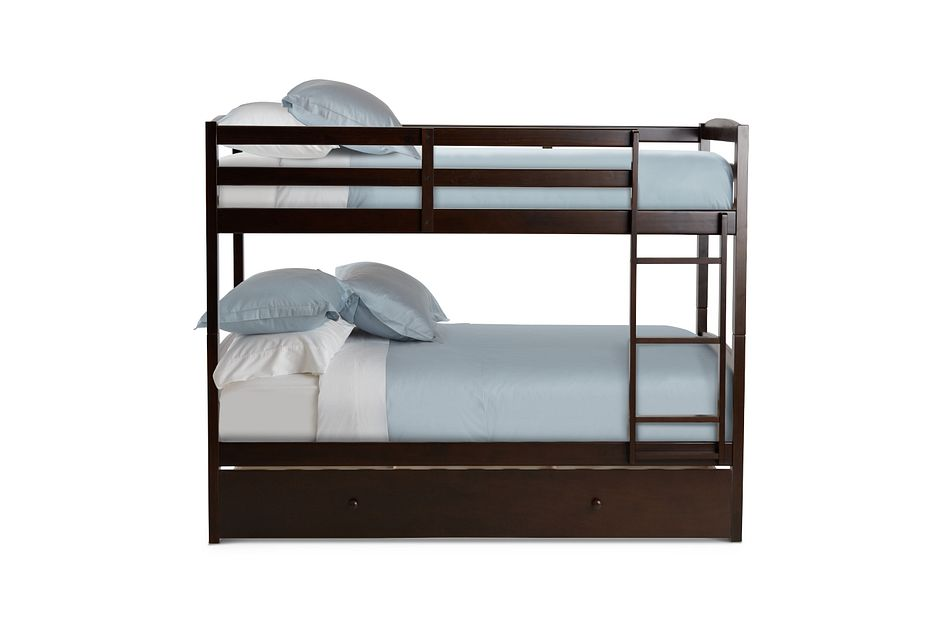 Marley Dark Tone Storage Bunk Bed