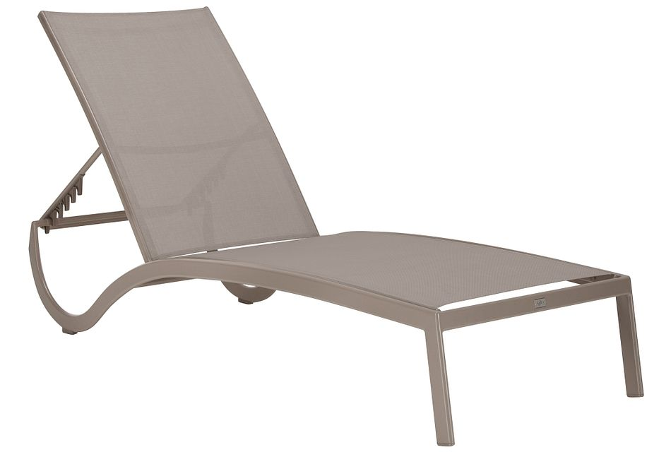 Lisbon Khaki Sling Chaise on Living Accents Sling Folding Chaise id=98447