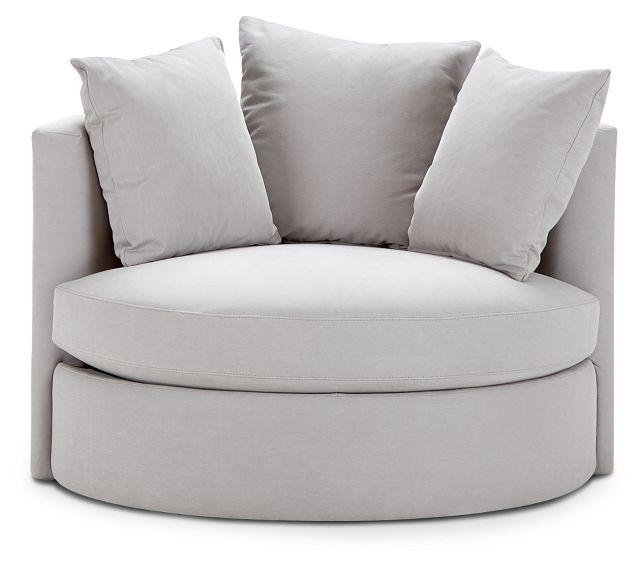 Merrick Gray Fabric Swivel Chair (3)