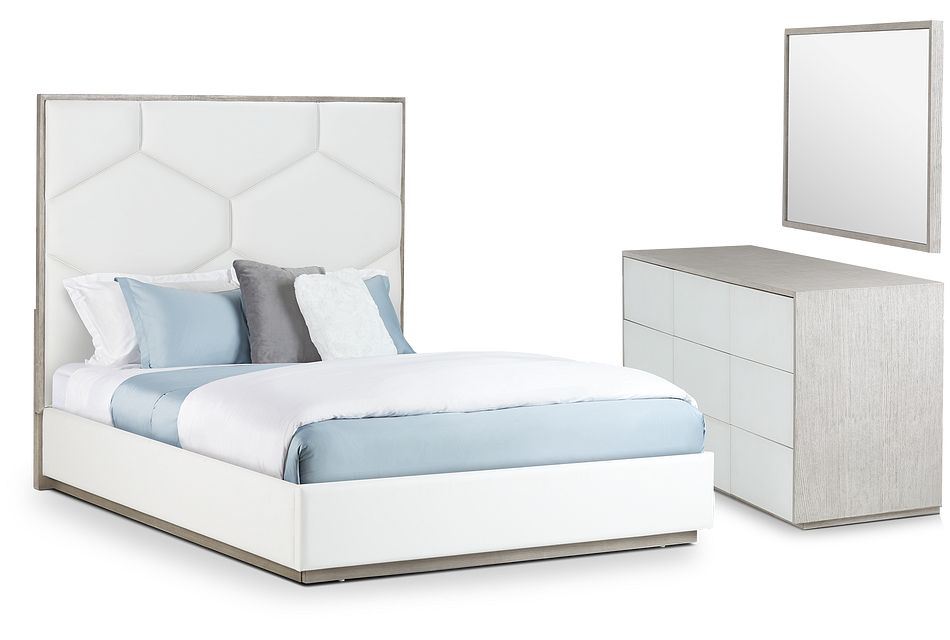 Rio Light Tone Uph Panel Bedroom