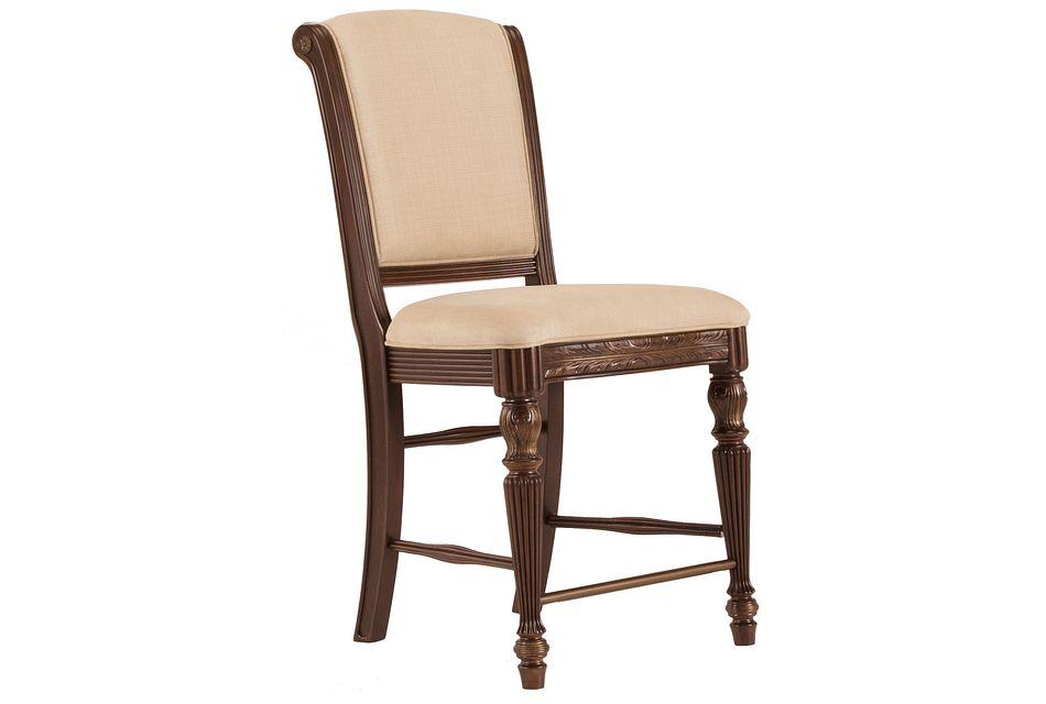 "Tradewinds DARK TONE 24"" Upholstered Barstool"