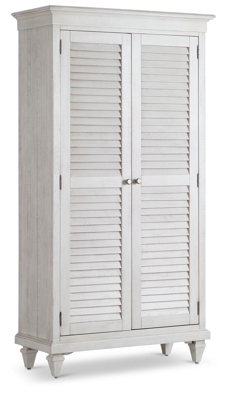 Sonoma Ivory Storage Cabinet (2)