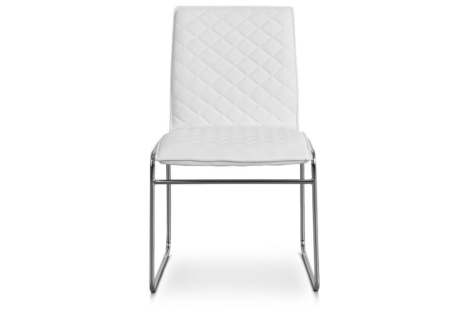 Skyline White Metal Side Chair,  (3)