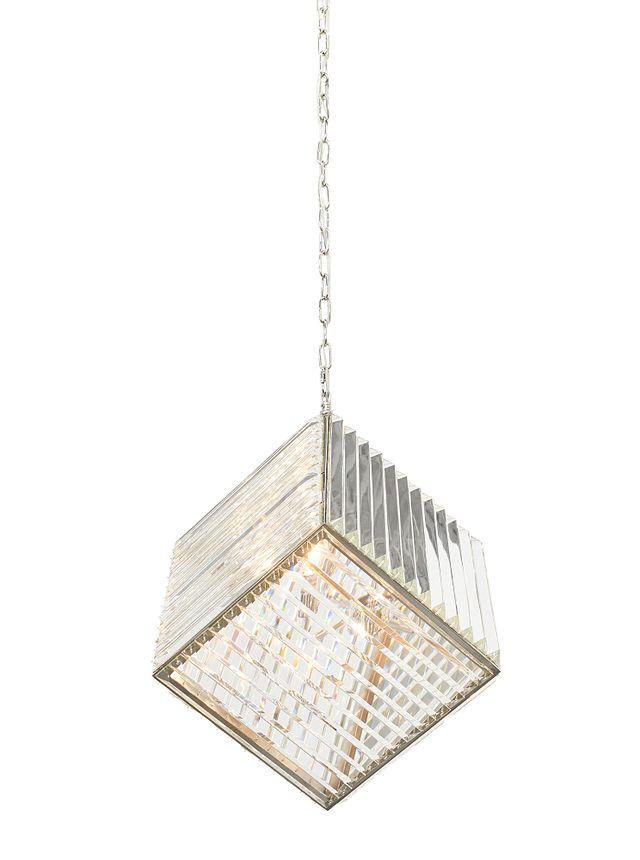 Cube Silver Pendant