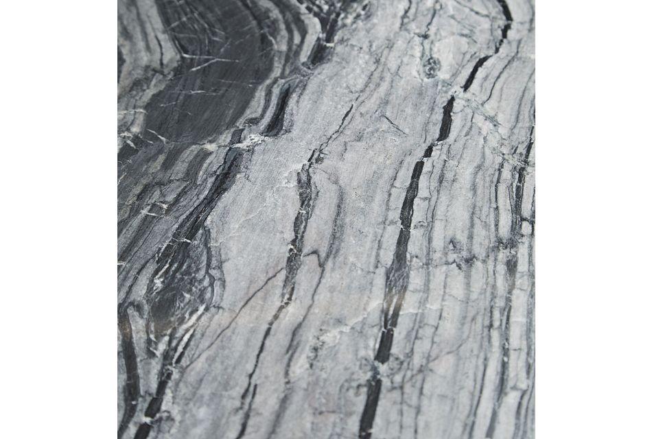 Linea Black Marble Nightstand