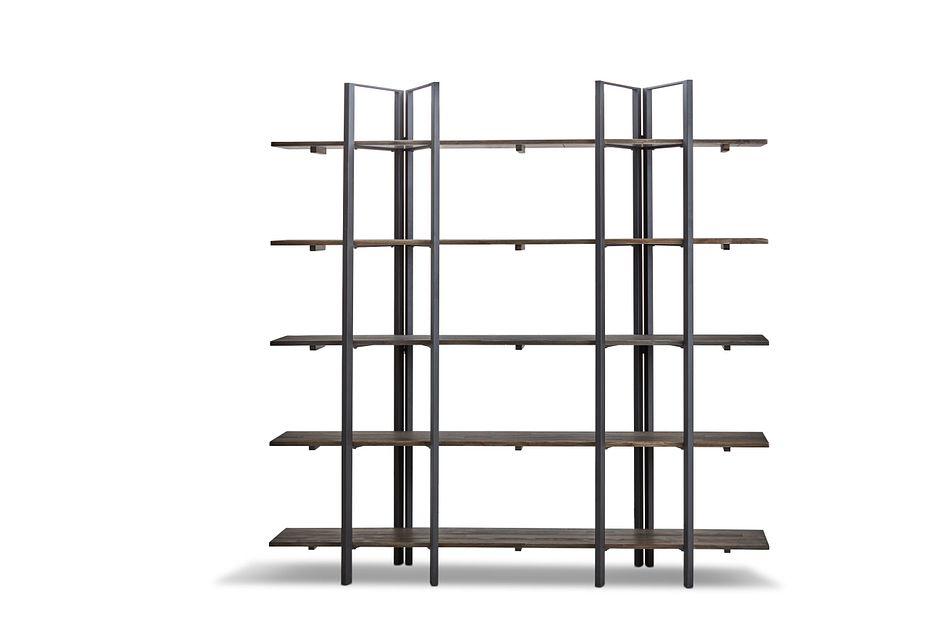 Aspen Dark Tone Bookcase