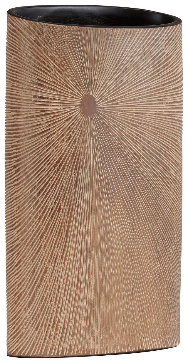 Elsa Light Brown Vase (1)