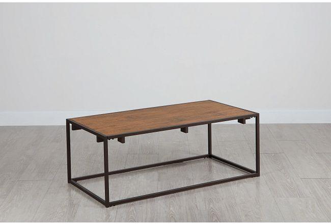 Reggie Dark Tone Coffee Table
