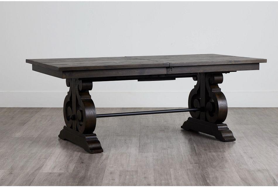 Sonoma Dark Tone Trestle Table,  (0)
