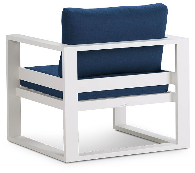 Lisbon Navy Aluminum Chair (3)