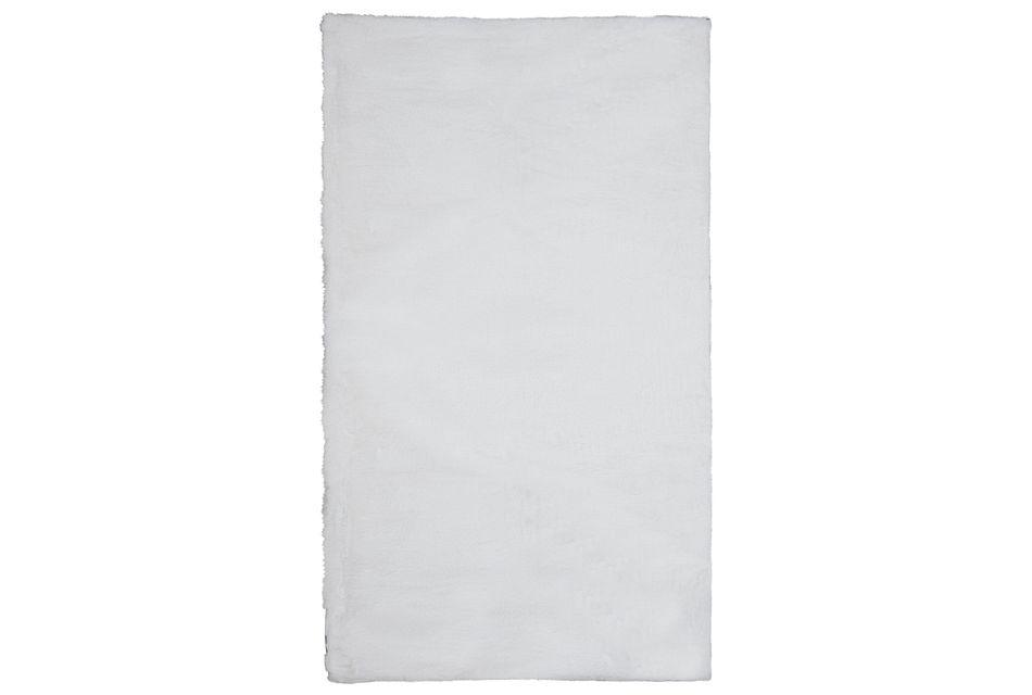 Kaycee White 6x9 Area Rug