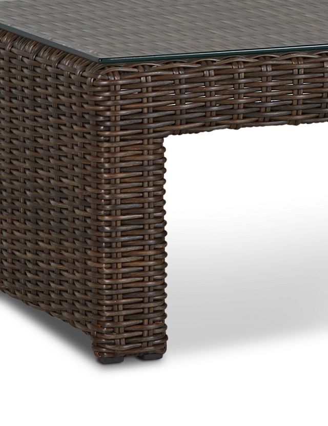 Southport Dark Brown Rect Coffee Table (3)