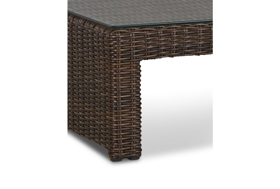 Southport Dark Brown Rect Coffee Table