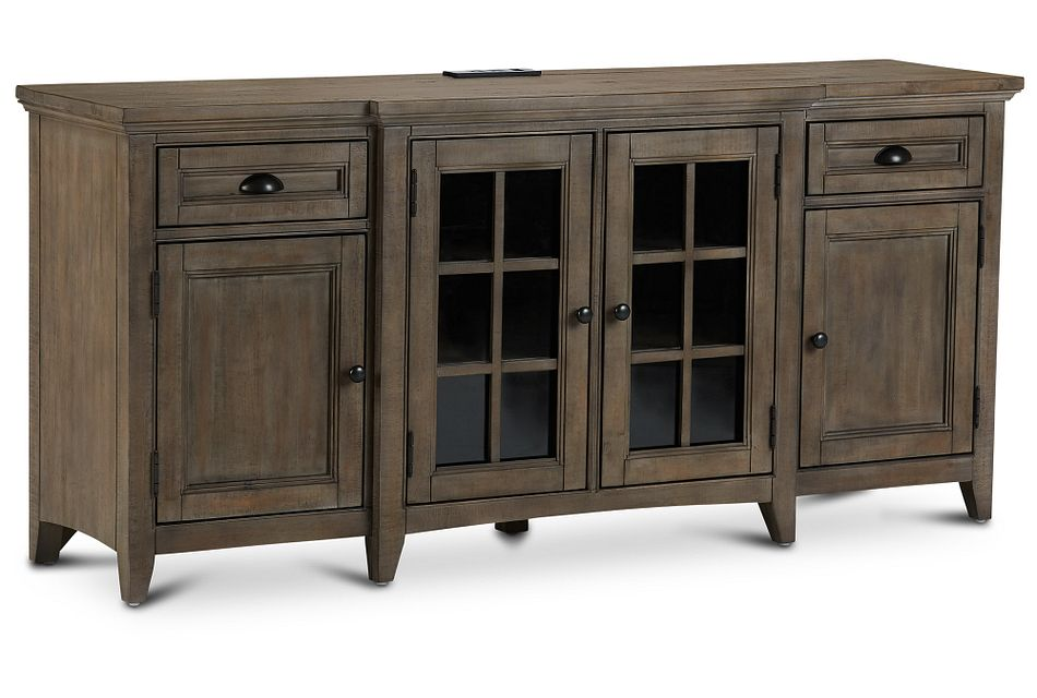 "Heron Cove Light Tone 70"" Tv Stand"
