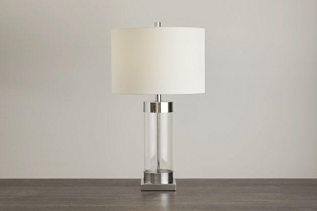 Lucia Chrome Small Table Lamp (0)