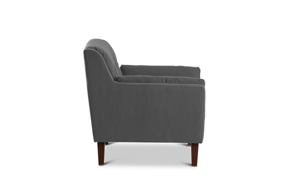 Tahoe Dark Gray Fabric Chair