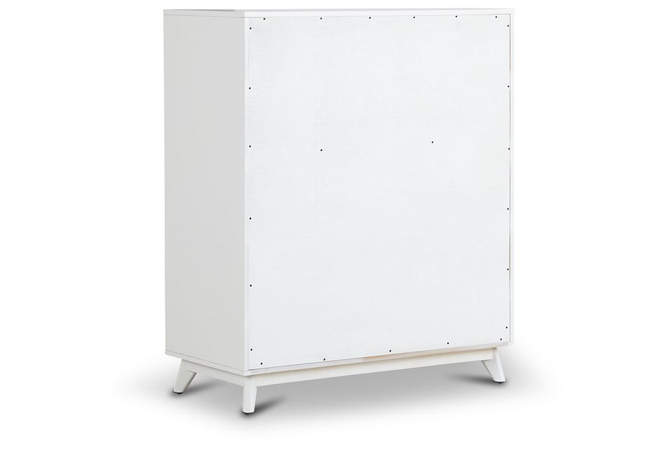 Kayson White 5-drawer Chest
