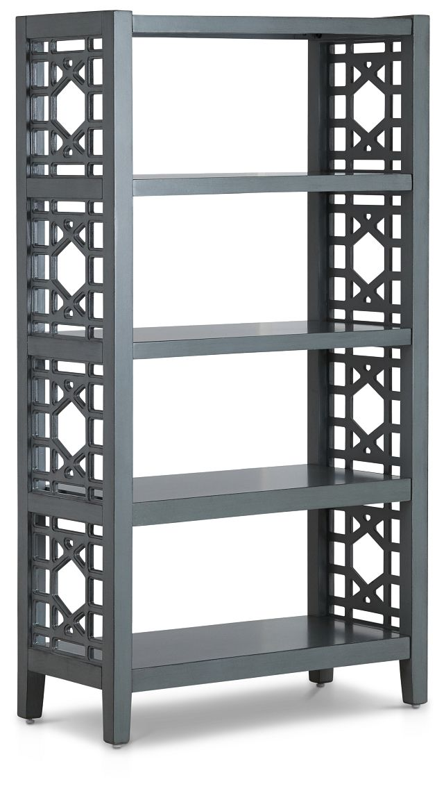 Joplin Gray Bookcase (2)