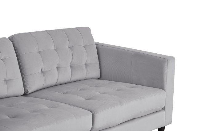 Shae Light Gray Micro Sofa