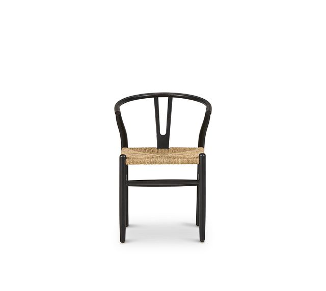 Moya Black Wood Side Chair (3)