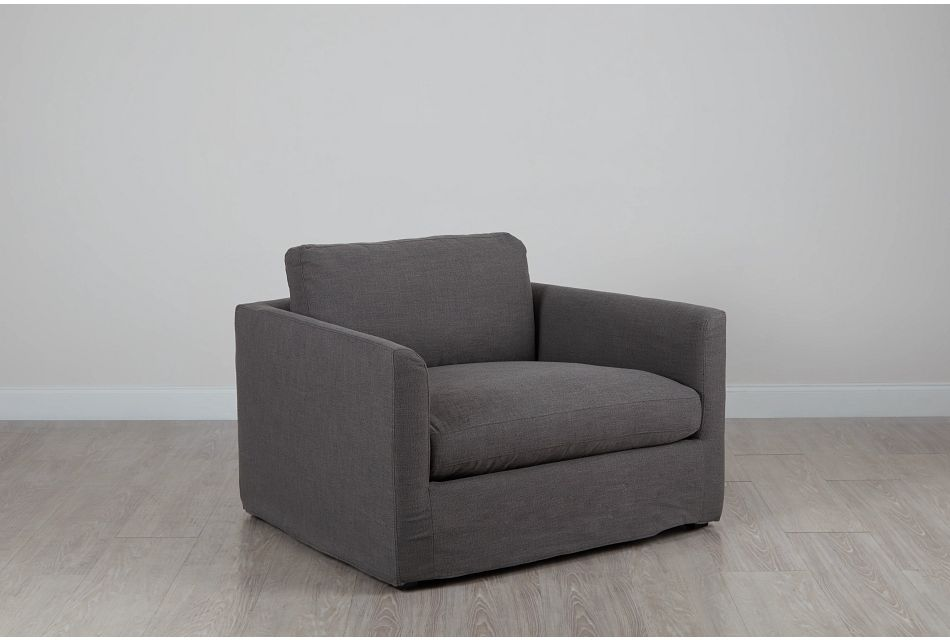 Willow Gray Fabric Chair