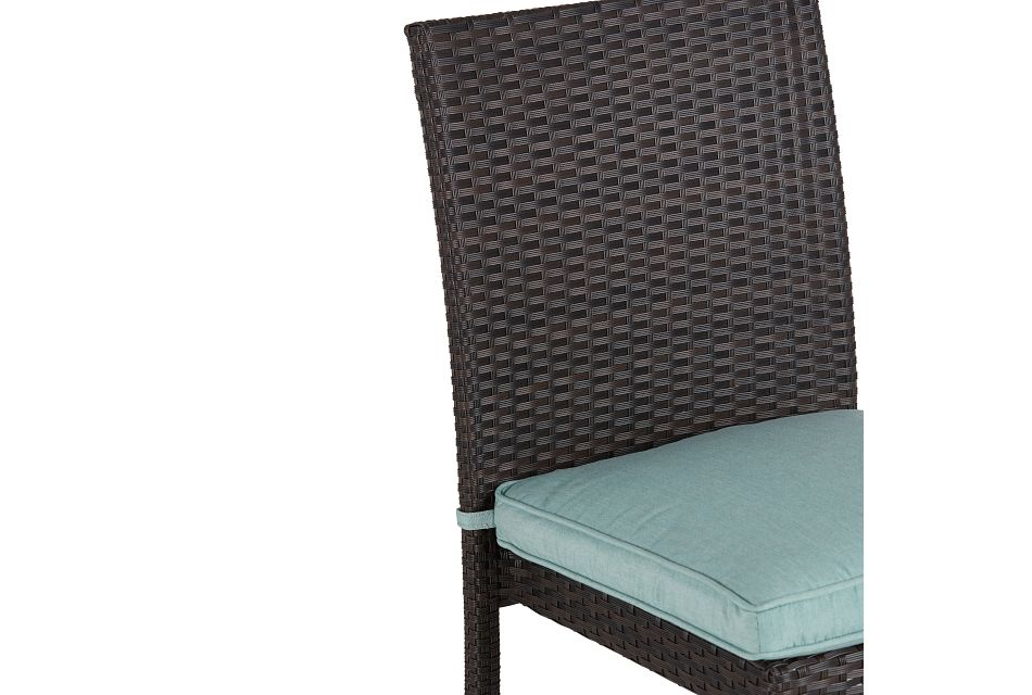 Zen Teal Side Chair