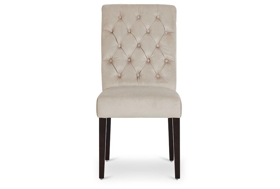 Sloane Light Beige Upholstered Side Chair,  (3)