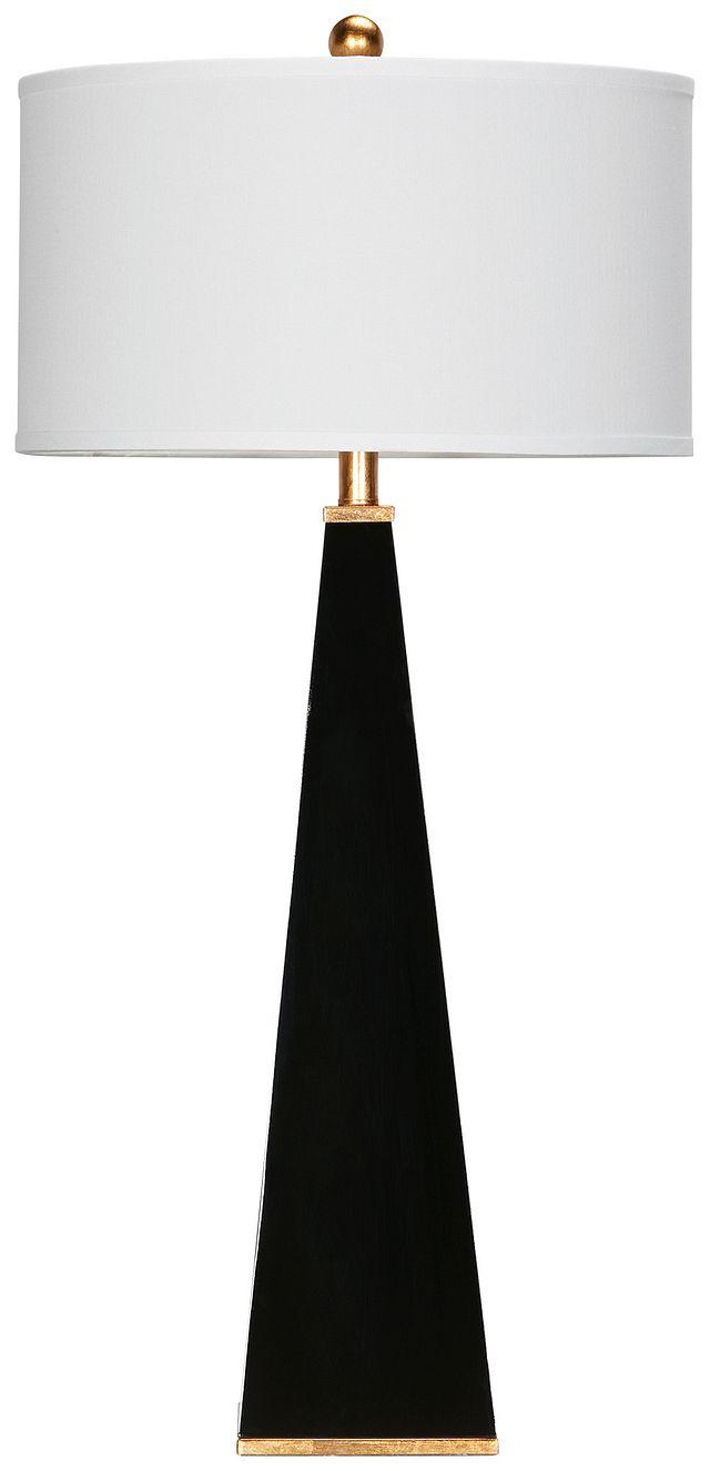 Elle Black Table Lamp (2)
